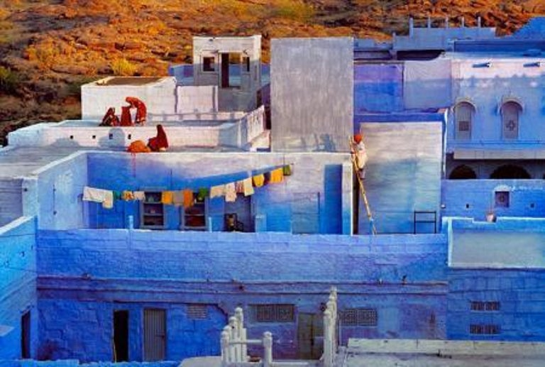 Rooftops, Rajasthan, India, 2009 - Photograph by Steve McCurry