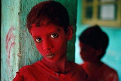 Red Boy, Holi Festival, Mumbai, India, 1996