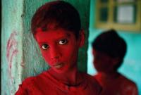 RED BOY, HOLI FESTIVAL, MUMBAI (BOMBAY), INDIA, 1996