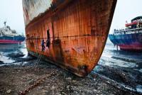 Ship Breaking Yard, Mumbai, India, 2006