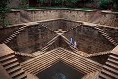 Stepwell, India, 2002 - Steve McCurry (Colour Landscape Photography)