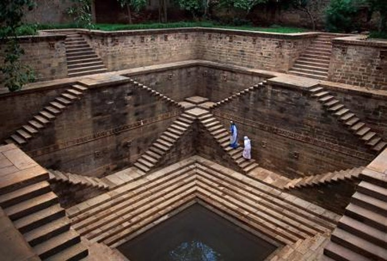 Stepwell, India, 2002 - Photograph by Steve McCurry