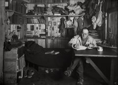 Captain Robert Falcon Scott in his Den, 7 October 1911