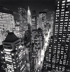 East 40th Street, New York, USA, 2006  - Michael Kenna (Black and White)