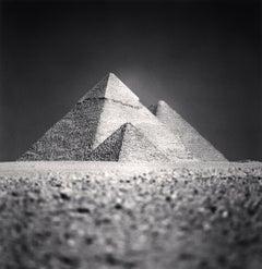 Giza Pyramids, Study 5, Cairo, Egypt, 2009 - Michael Kenna (Black and White)