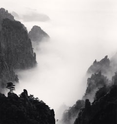 Huangshan Mountains, Study no 8, Anhui, China, 2008 - Landscape Photography