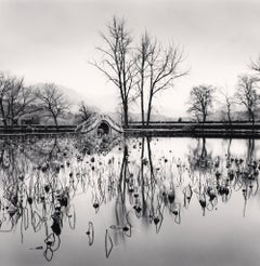 Lake Bridge, Hongkun, Anhui, China, 2008  - Michael Kenna (Black and White)