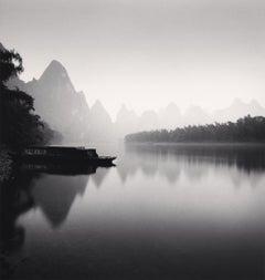 Lijiang River, Study 4, Guilin, China, 2006  - Michael Kenna (Black and White)