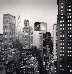 Midtown Twilight, New York, USA, 2006  - Michael Kenna (Black and White)