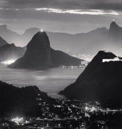 Night Lights, Rio de Janeiro, Brazil, 2009  - Michael Kenna (Black and White)
