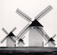 Quixote's Giants, Study 5, Campo de Criptana, La Mancha, Spain, 1996