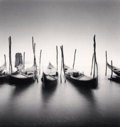 Six Gondolas, Giardini ex Reali, Venice, Italy, 1980 - Michael Kenna