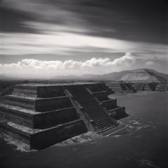 Teotihuacan, Study 1, Mexico, 2006 - Michael Kenna (Black and White Photography)