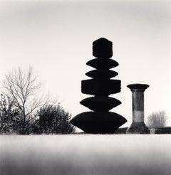 Topiary and Column, Northamptonshire, England, 2005 - Michael Kenna