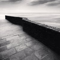 Winding Wall, Mont St Michel, France, 2004