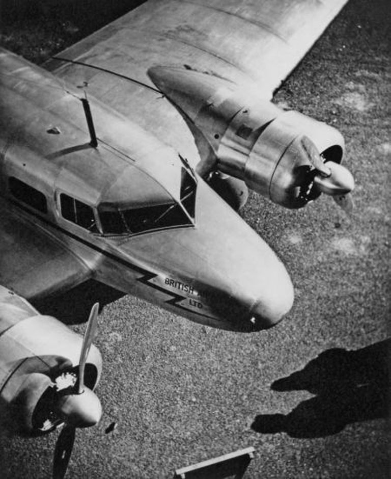 British Airways, c.1950s - Norman Parkinson (Black and White Photography)  Stamped with photographer's ink stamp on reverse Silver gelatin print, printed 1950s 11 3/4 x 9 1/2 inches