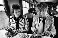 David Bowie and Mick Ronson, 1973