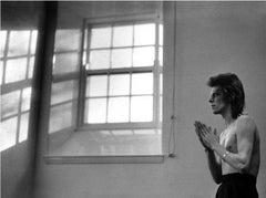 David Bowie, Praying by Windows, 1973 - Mick Rock (Portrait Photography)