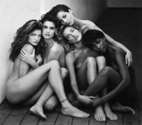 STEPHANIE, CINDY, CHRISTIE, TATIJANA, NAOMI, HOLLYWOOD, 1989