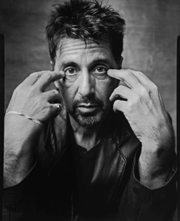 Al Pacino, NYC, 1999 - Photograph by Mark Seliger