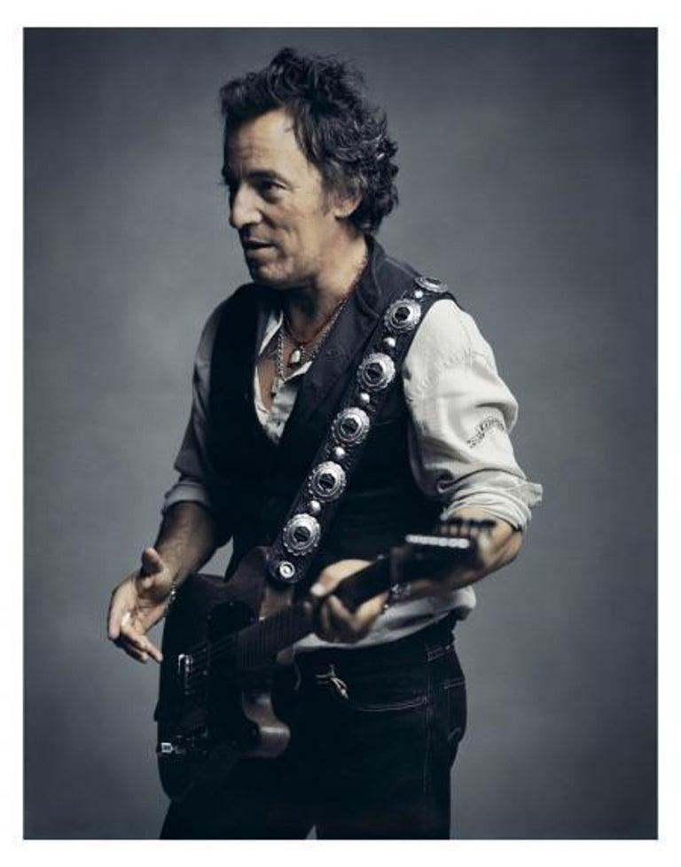 Mark Seliger Portrait Photograph - Bruce Springsteen, New York, 2007