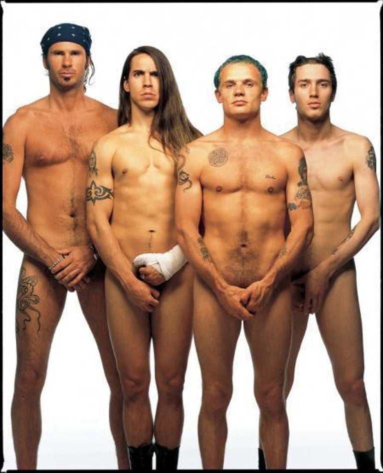 Red Hot Chili Peppers, Los Angeles, 1992 - Photograph by Mark Seliger