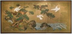 6 Panel Japanese Byobu