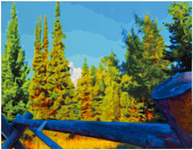 Timothy Tompkins Landscape Painting - Tall Trees