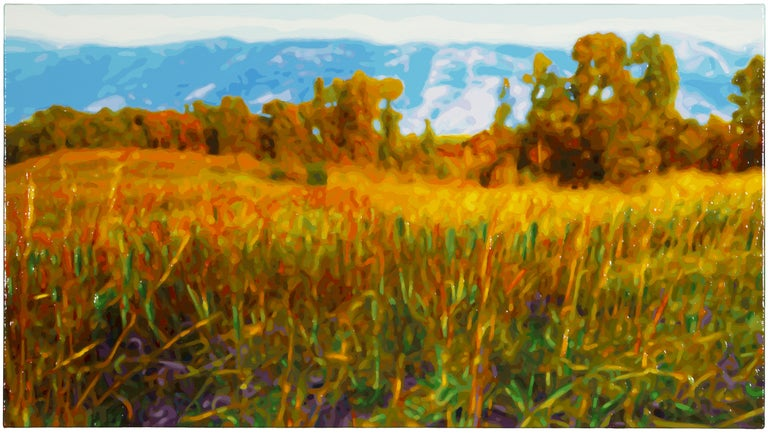 Rolling Meadow - Painting by Timothy Tompkins