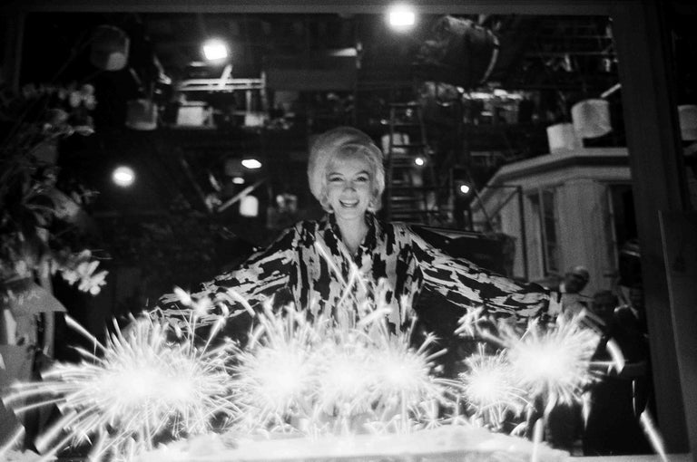 Lawrence Schiller Figurative Photograph - Marilyn 12, No. 37, Black and White Photograph of Marilyn Monroe
