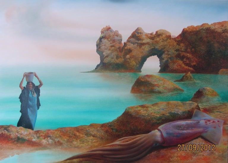 Genia Chef Landscape Painting - The Beauty and the Beast (La Belle et la Bete)