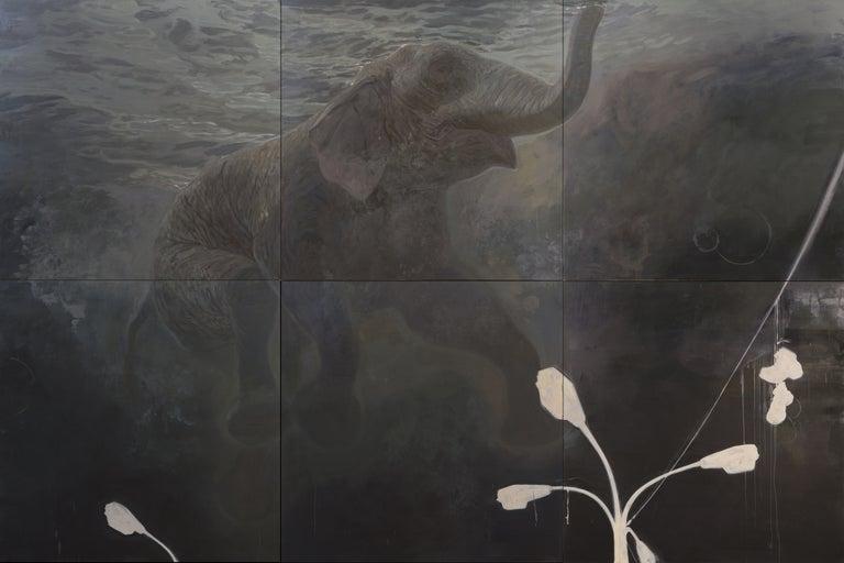 Ruprecht von Kaufmann Animal Painting - Elephant