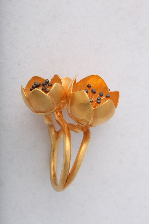 Buttercup Flower Ring 4