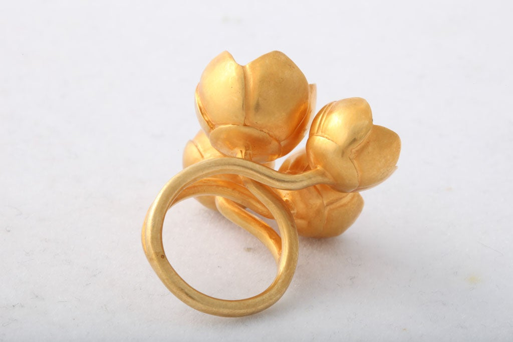 Buttercup Flower Ring 5