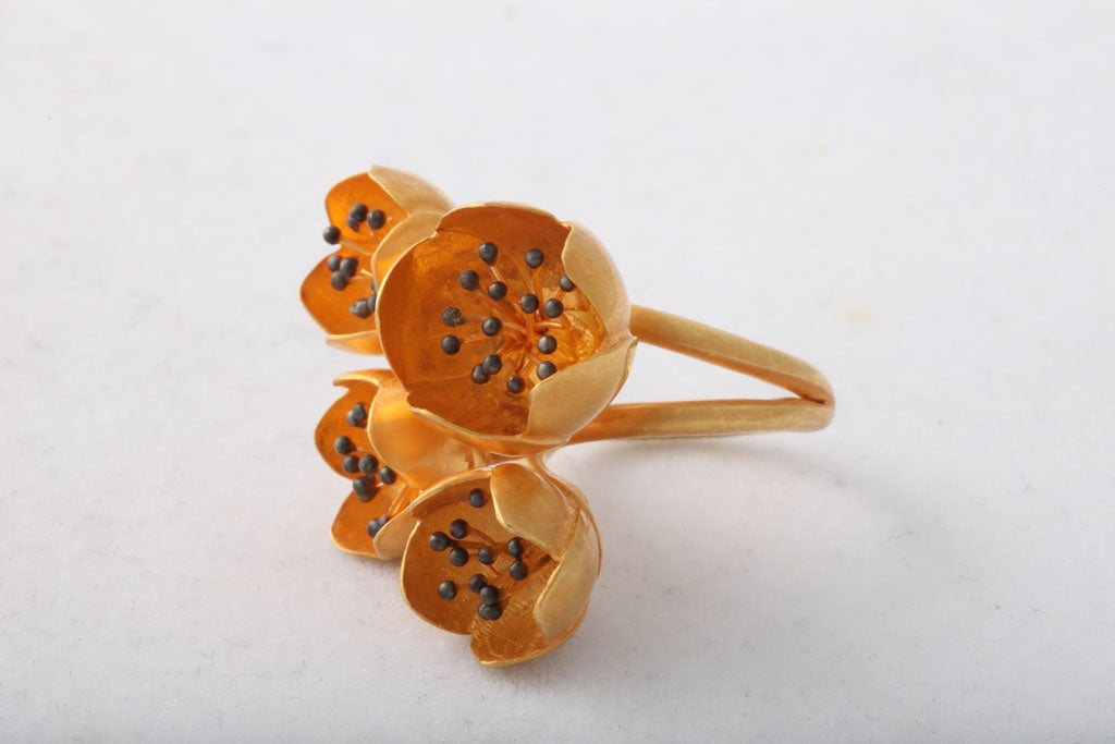 Buttercup Flower Ring 2
