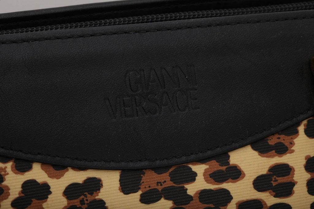 Gianni Versace Baroque Print Bag 5