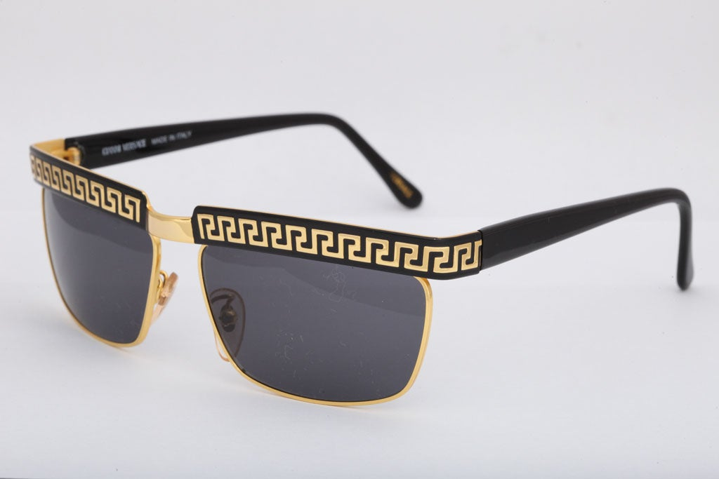 Vintage Gianni Versace Sunglasses - 52 For Sale at 1stdibs