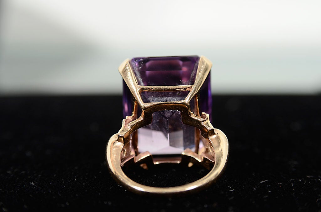 American West Jewelry Amathyst Ring