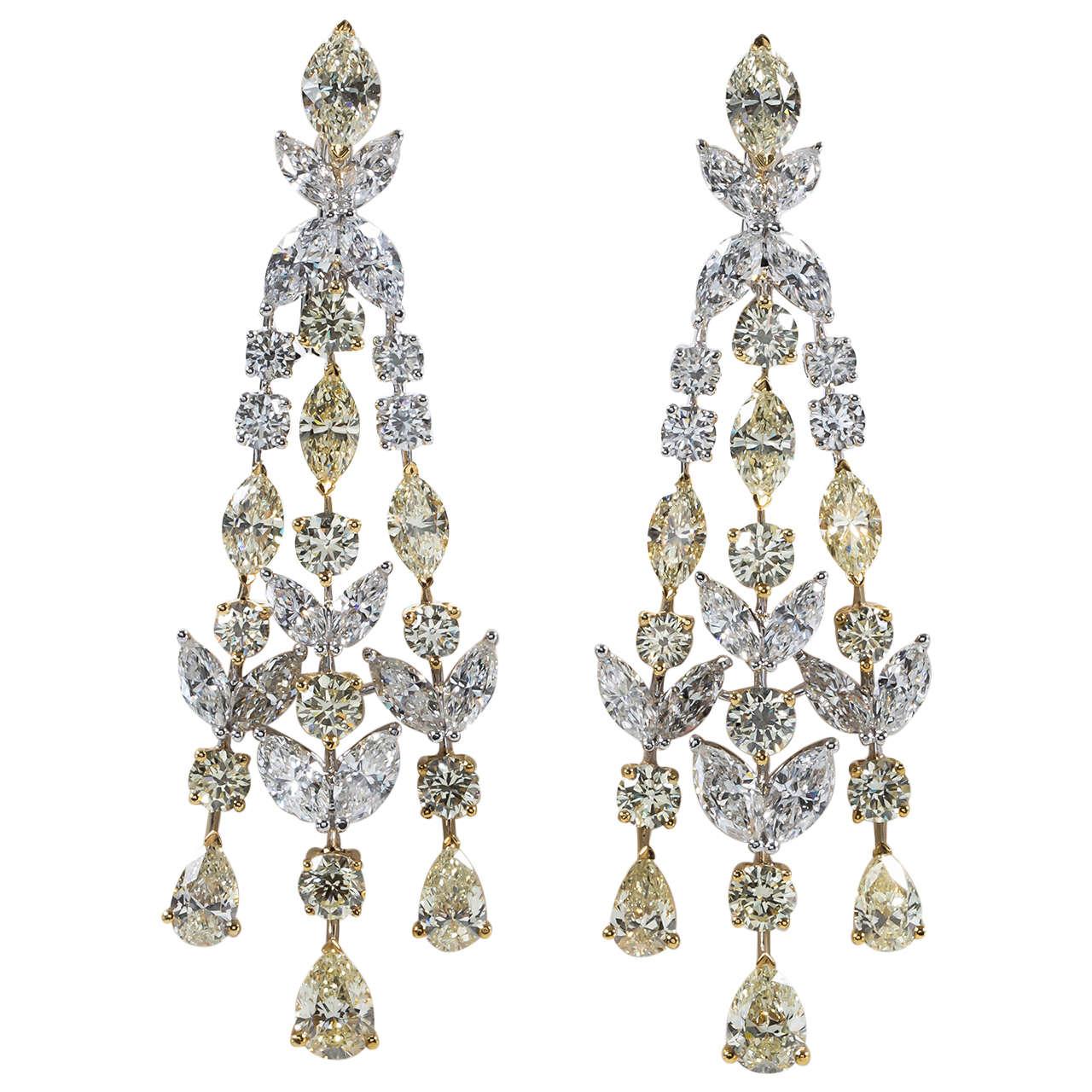 Chandelier Earrings Diamond Chandelier Earrings India 3 25