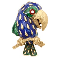 Fanciful Enameled Toucan