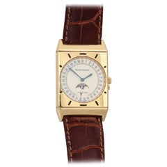 Jaeger-LeCoultre 18kt Gold Wristwatch with Calendar and Moonphase Function