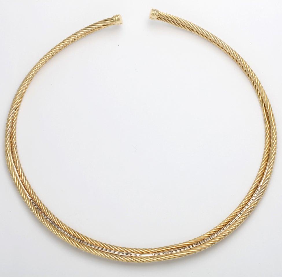 david yurman and gold necklace at 1stdibs