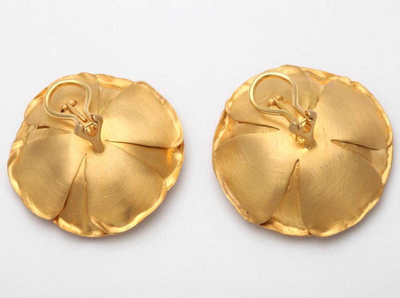 Peonies Earrings 4