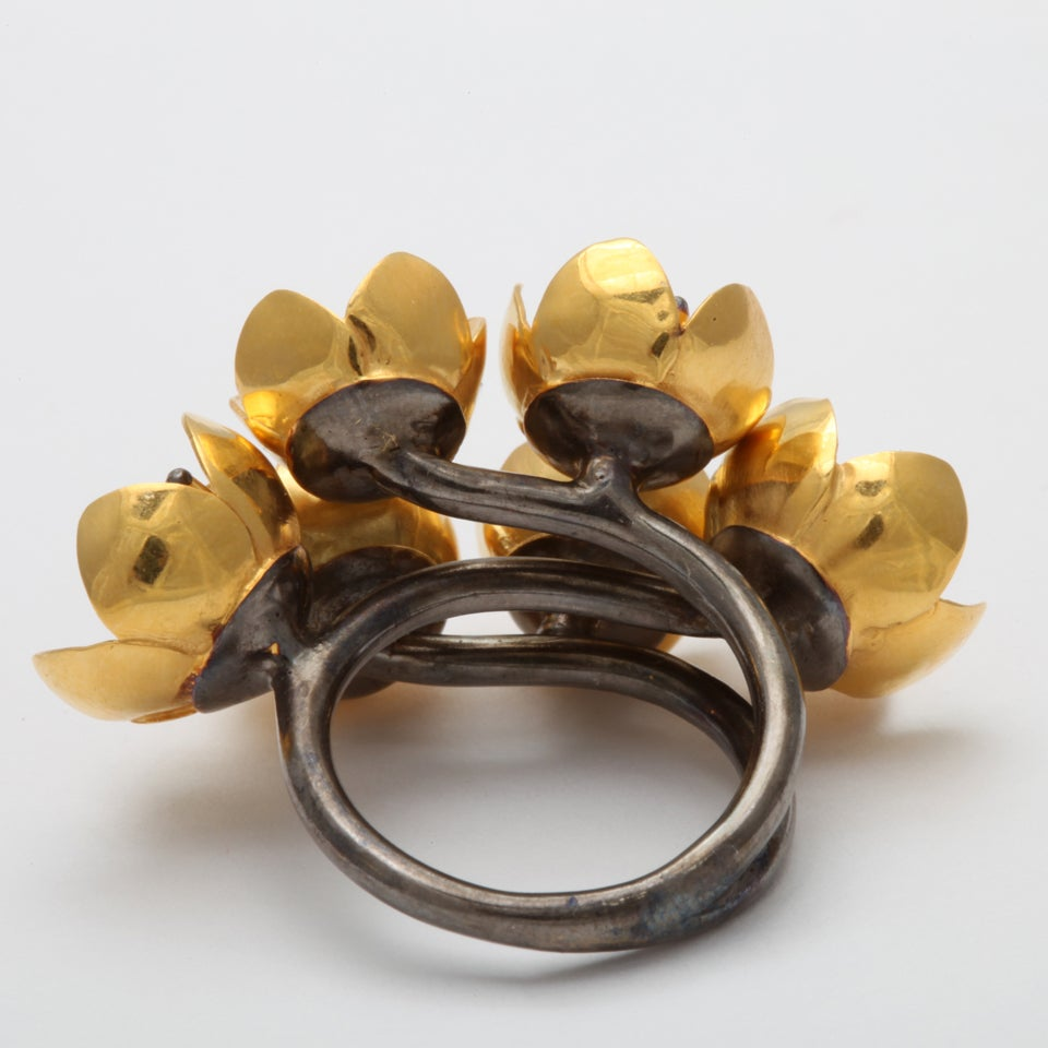 Buttercup Flower Ring For Sale 1