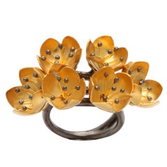 Buttercup Flower Ring