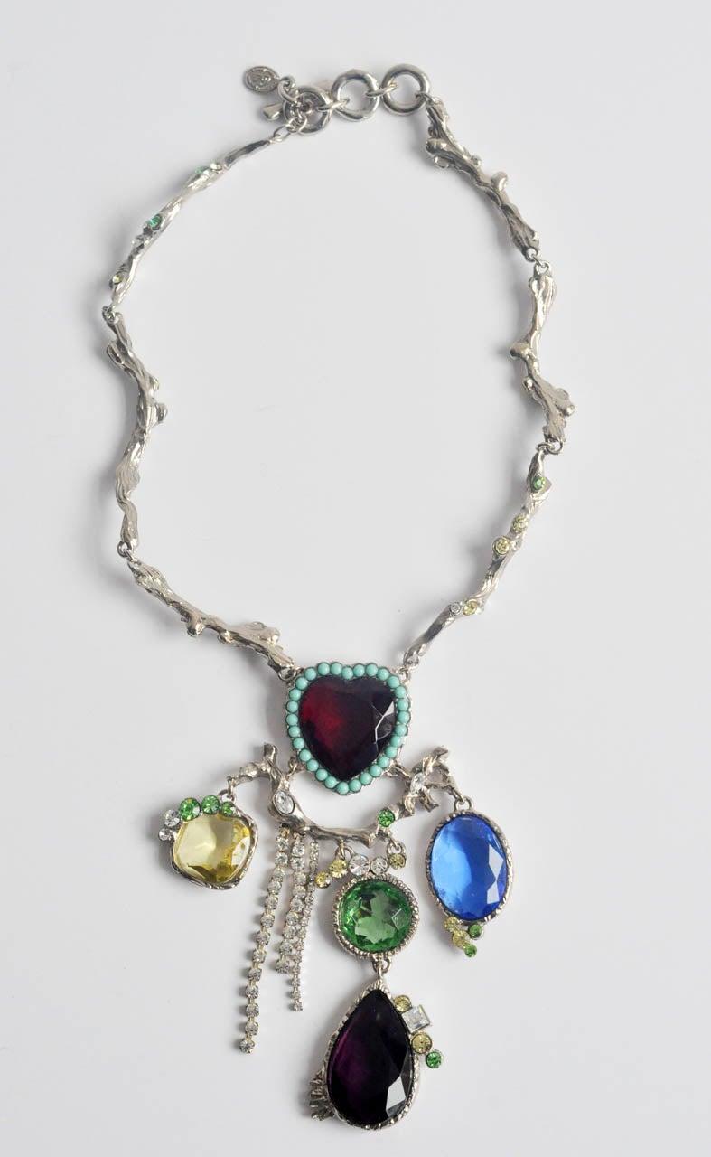 Christian Lacroix Silver-tone Necklace 2