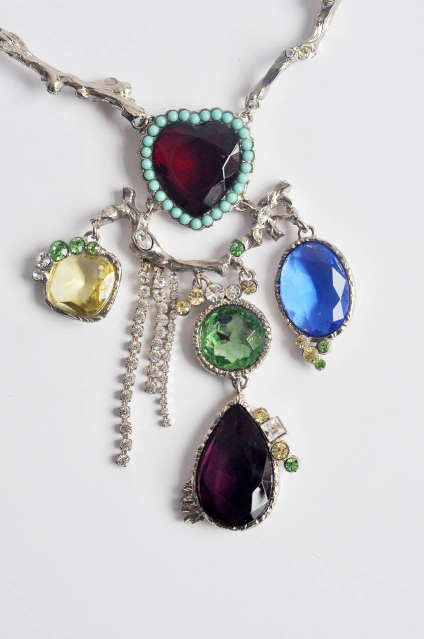 Christian Lacroix Silver-tone Necklace 3
