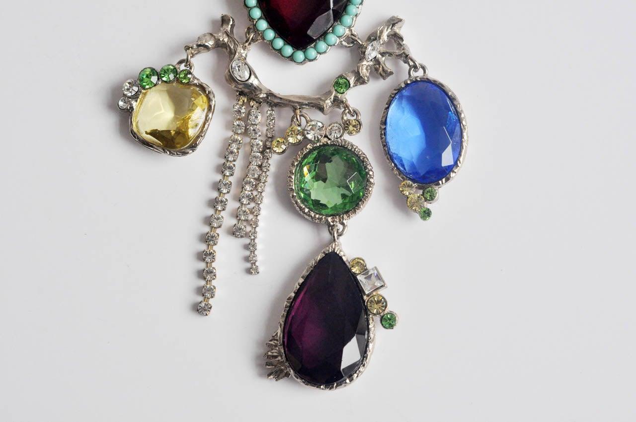 Christian Lacroix Silver-tone Necklace 4
