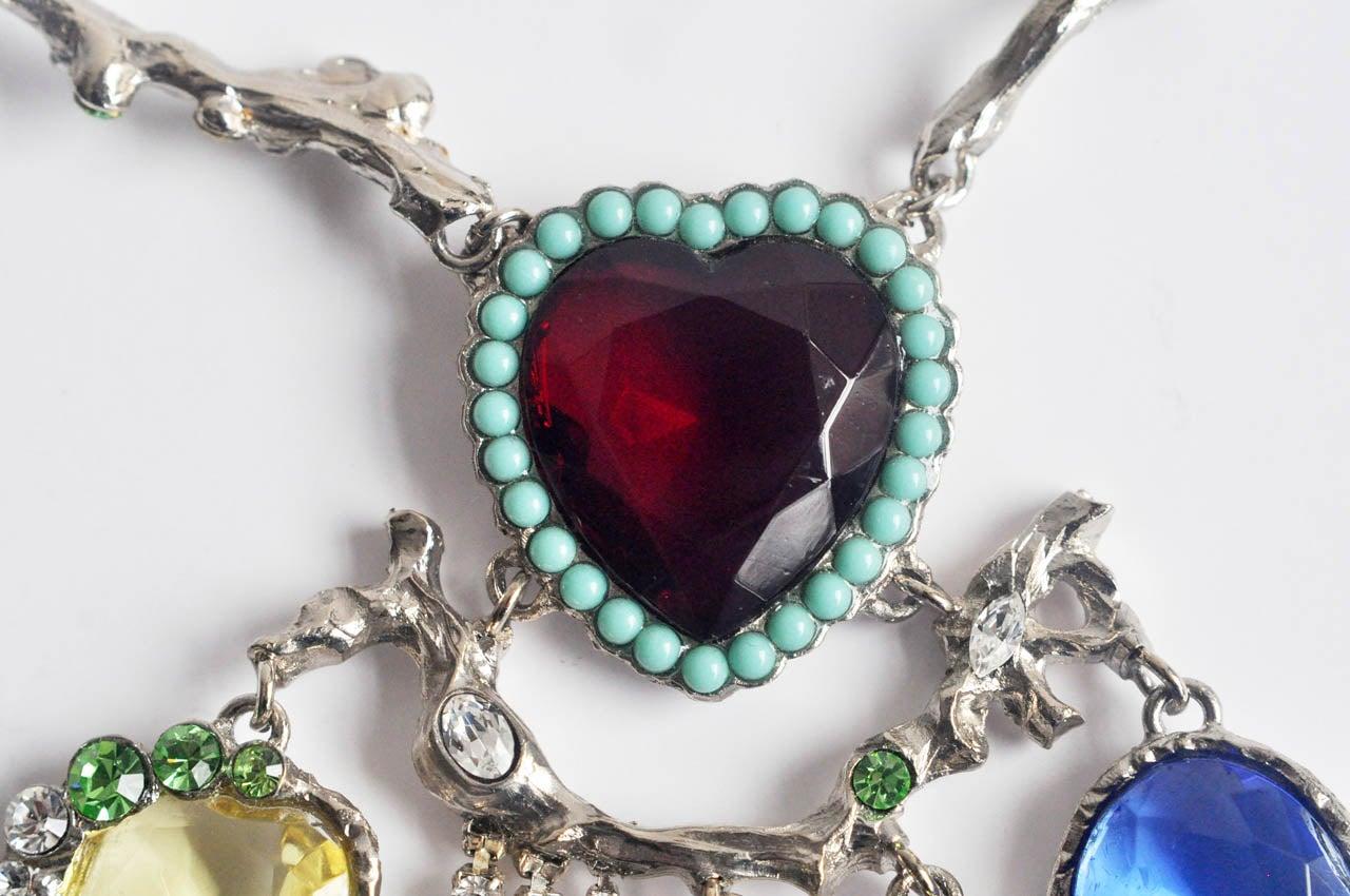 Christian Lacroix Silver-tone Necklace 6