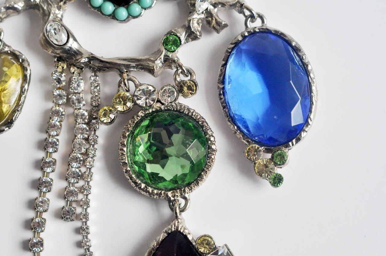 Christian Lacroix Silver-tone Necklace 8